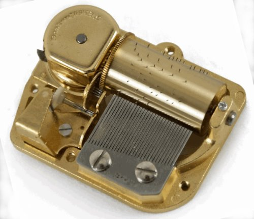 18 note musical movements with free music box plan