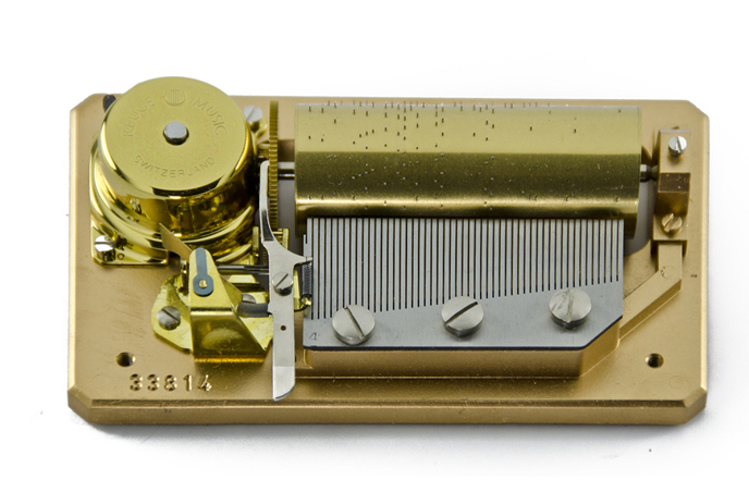 50 note Reuge / Romance Mechanism 3.50