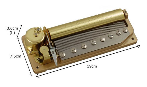Orpheus 3 tune 72 note mechanism