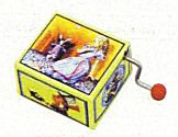 Crank Box Alice in Wonderland Series (hurdy gurdy)