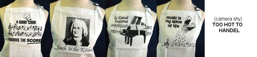 Aprons for Music Lovers