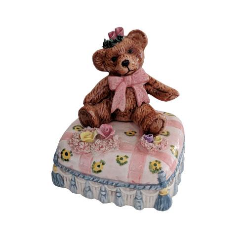 Yamada Bear sitting on Cushion