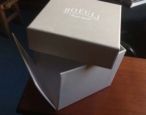 Outer Box for Boegli Presentation Box