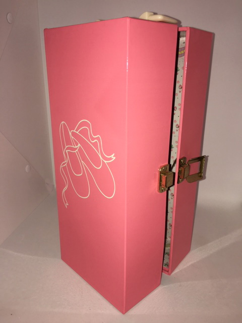 Cadence's pink musical travel case