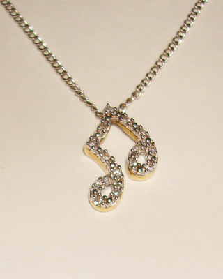 Diamond Notes on Chain
