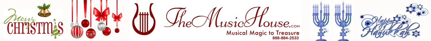 Welcome to our Music House Shop at TheMusicHouse.com