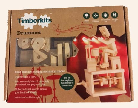 Packaged Timber Kit Drummer