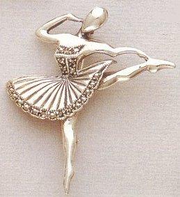 Marcasite Ballerina - Developpe
