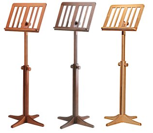 Music Stand Wood Beechwood Km Walnut Cherrywood Or Beech