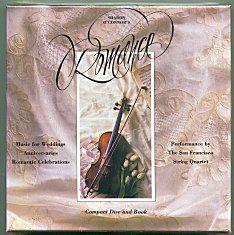 CD Romance Menus and Music by Sharon OConnor