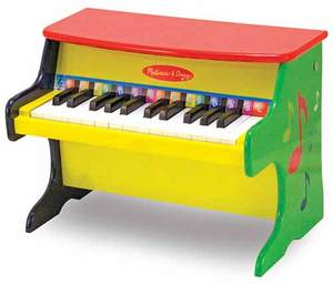 The Melissa and Doug Learn to Play Piano - Toddler Size