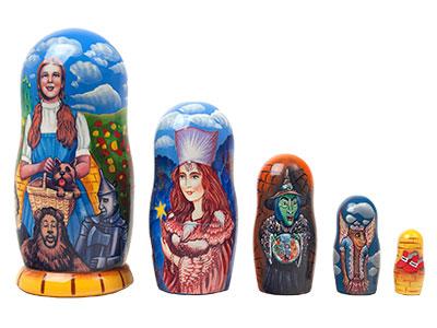 Land of Oz Russian Nesting Dolls