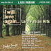 I WILL LOVE AGAIN...LARA FABIAN HITS!  PSCDG 1501