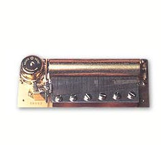Reuge 3 tune, 72 note musical mechanism