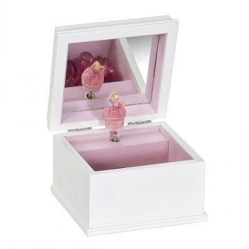 interior view of Surrey Ballerina Jewelry box