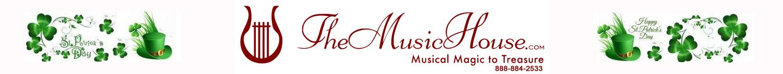 TheMusicHouse.com Happy St. Patricks Day