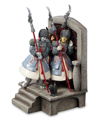 Winkie Guards From Wizard Of Oz Musical Figurine