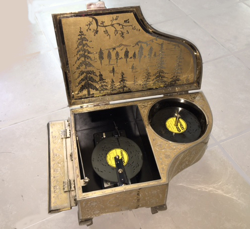 The Ultimate Zimbalist Piano Disc Player Music Box