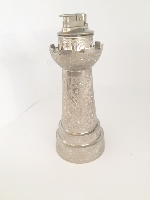Castle Tower Cigarette Lighter by Zimbalist