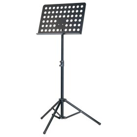Music Stand - Steel with Perforated Desk