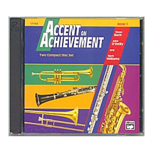 Music CD and Method Book Accents On Achievement