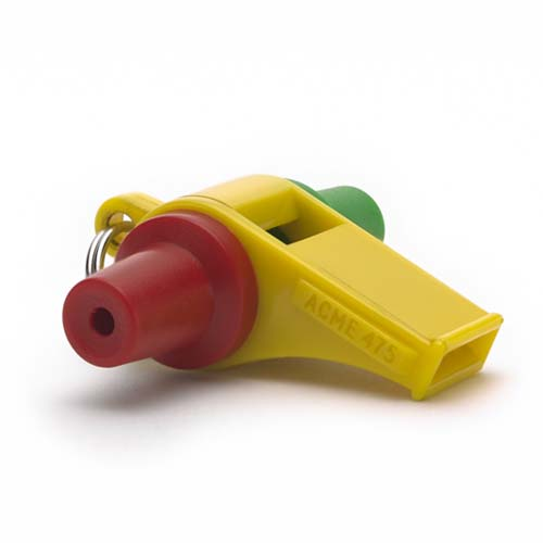TRi colored Acme Samba Whistle