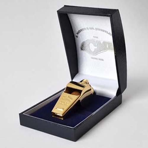 Acme Thunderer 59.5 Gold Plated Whistle