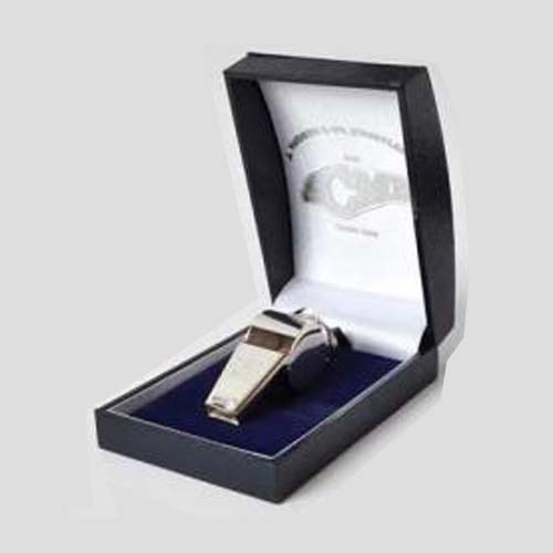 Acme Silver Plated Thunderer in Satin Lined Presentation box
