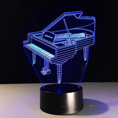 Acrylic Piano LED Lamp