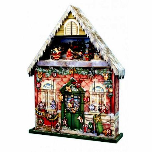 Christmas house musical advent calendar for Christmas house music