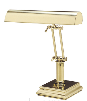 Lamp polished brass double armature