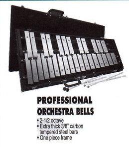 Orchestra Bells - Professional 2 1/2 octave
