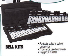 Bell Kits - 20 note-molded case