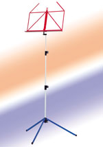 K&M Multi-Colored Folding Music Stands