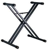 Keyboard Stand - Black Aluminum