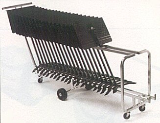 Manhasset Rack n Roll Cart