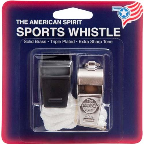 American Award Whistle with Lanyard