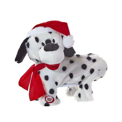 Battery-Operated Musical Animated Twerking and Dancing Christmas Dog