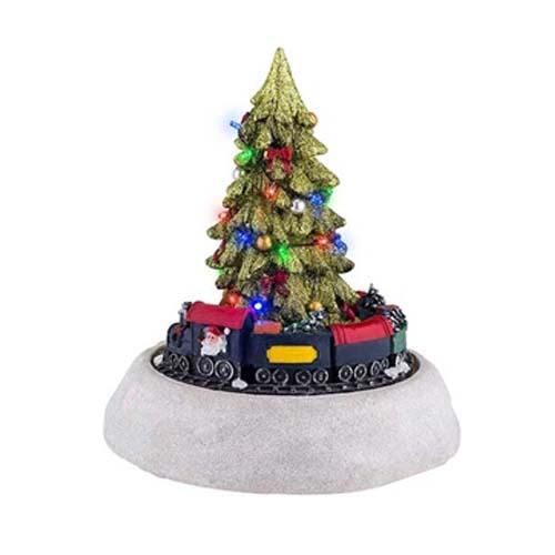 Animated Christmas Tree and Train by Mr. Christmas