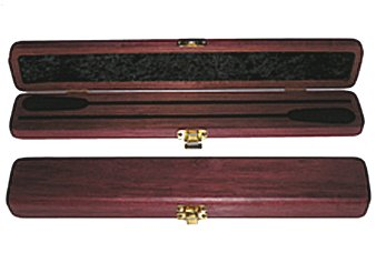 conductor 39 s cherry double baton case by premier. Black Bedroom Furniture Sets. Home Design Ideas