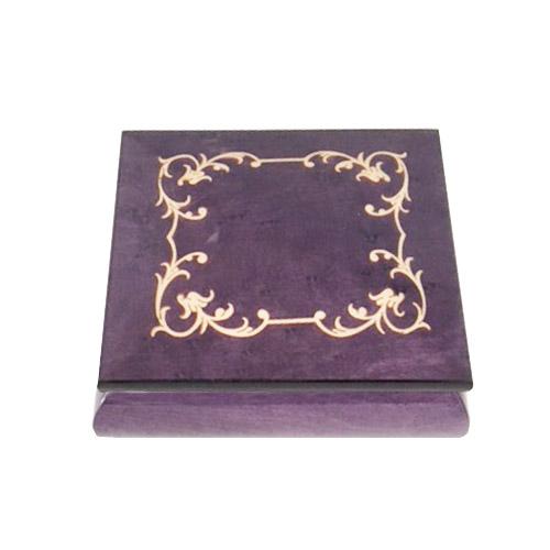 Arabesque Music Box Purple