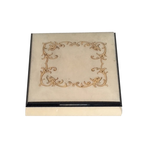 Arabesque Music Box White