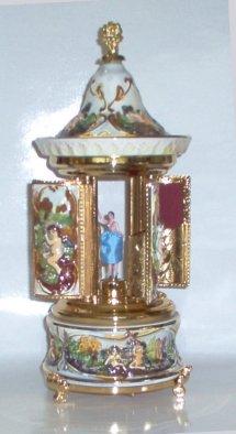 Capodimonte Musical Carousel with Ballerina