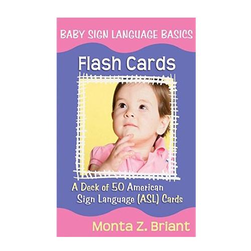 Baby sign language basics flash cards