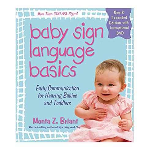 Baby sign language basics paperbook book