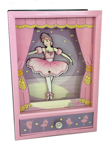 Animated Ballerina Theatre in Shadow Box
