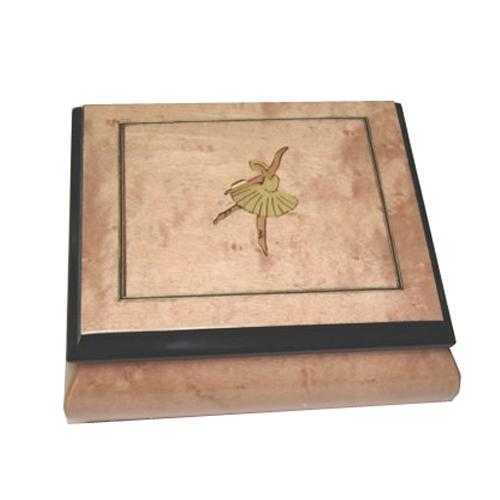Pink Ballet inlaid music box