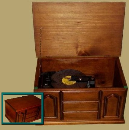 Thorens Disc Player with Panel Cabinet AD30 (4.5)