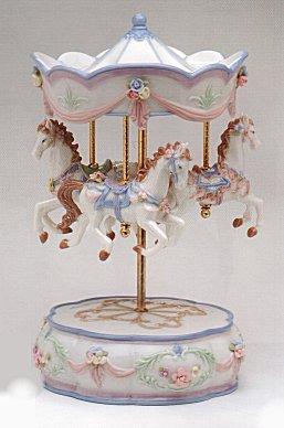 Porcelain Merry Go Round