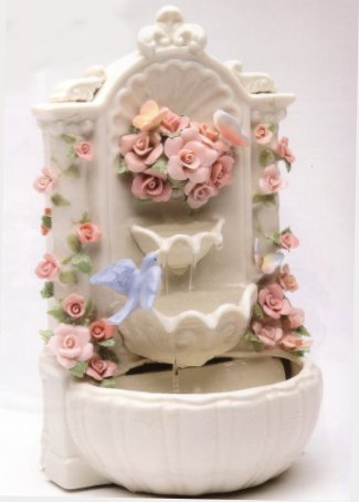 Porcelain Water Fountain